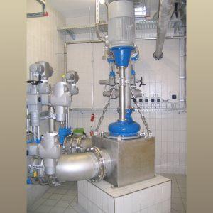 ER3-E AR Pumpstation in Kläranlage