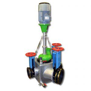 ER3-E AR Pumpe auf Sammelkasten