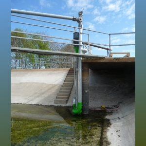 ER2-E installiert in Lagune