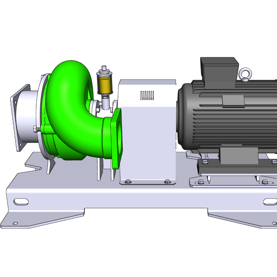 Bild trocken aufgestellte Pumpe ER3-E L