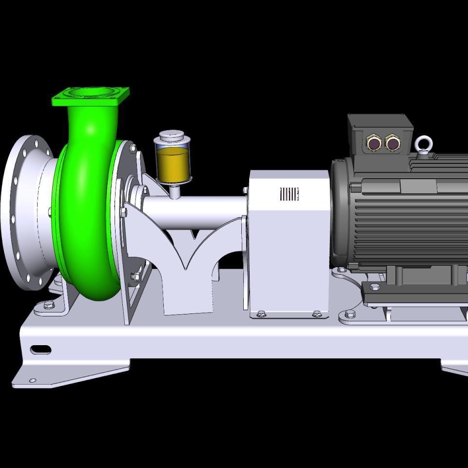 Bild trocken aufgestellte Pumpe ER4-E L