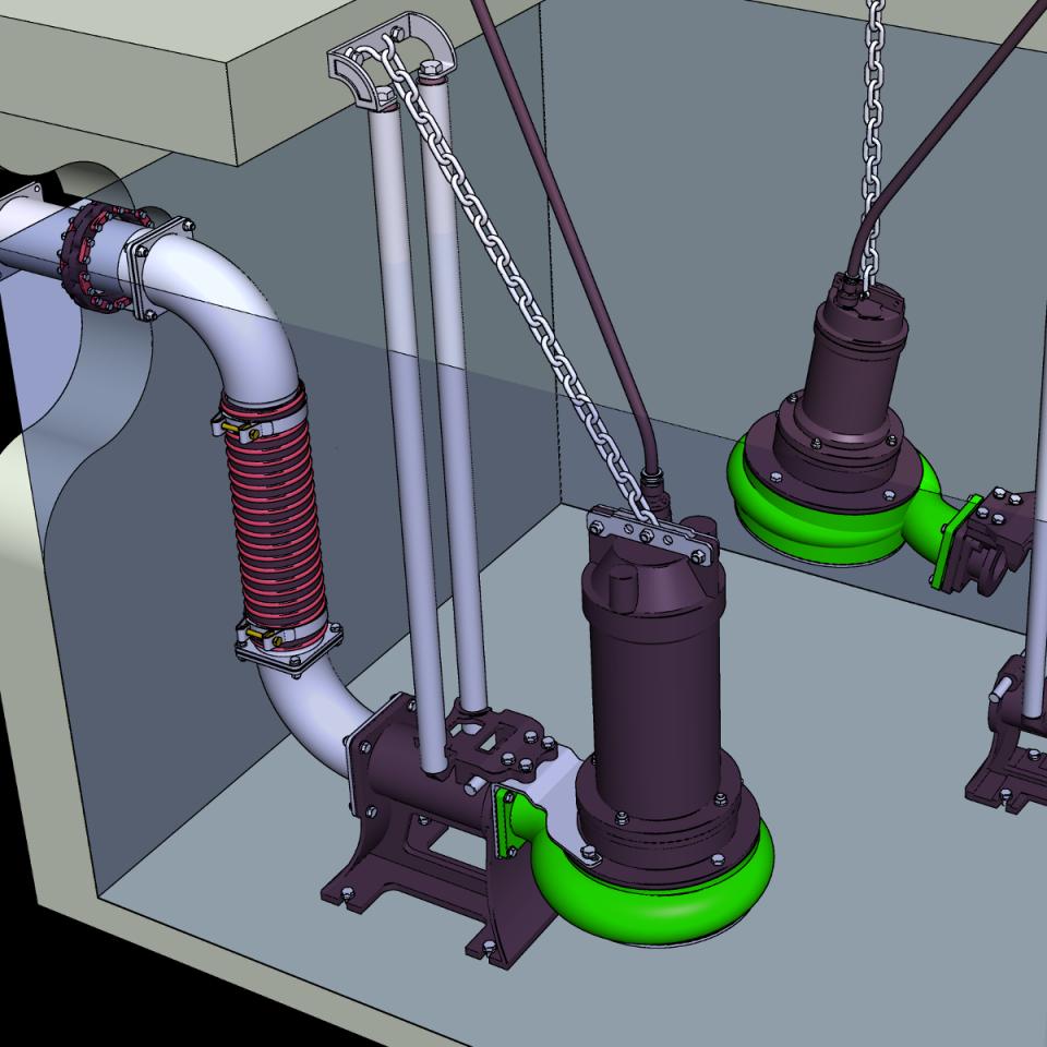 Bild ER4-T Tauchmotorpumpe