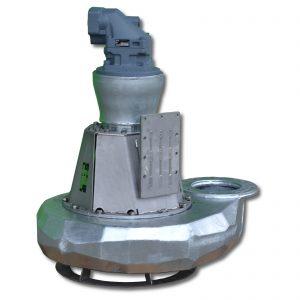 Pumpe mit Hydraulikantrieb ER8-H XL