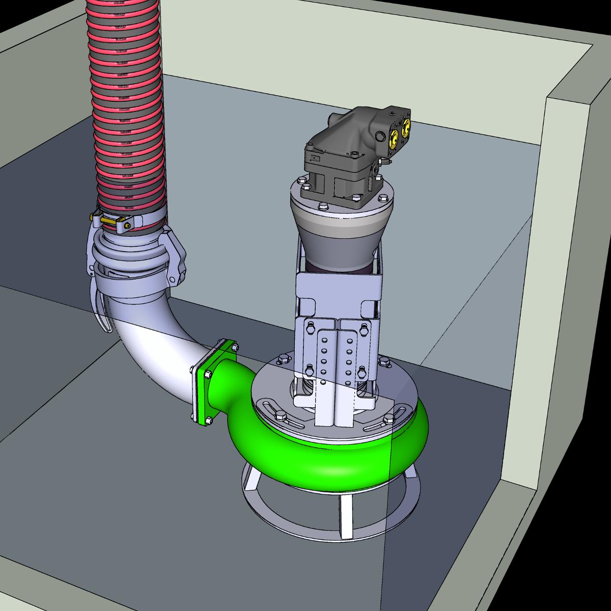 Portfolio Pumpe mit Hydromotor ER4-H
