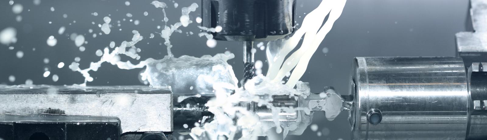 Pumpen für Kühlschmiermittel mit Späne in der Industrie