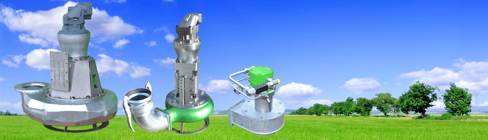 Baggerpumpen Euro-P Pumpen mit Hydromotor