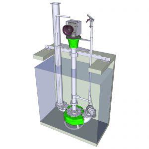 ER8-S Hochleistungs-Rührmixpumpe