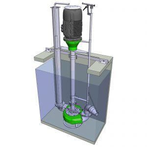 ER8-E Hochleistungs-Güllepumpe