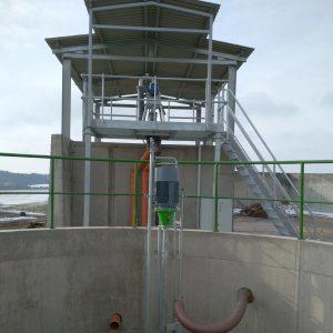 Foto ER2-Pumpe mit Schneckenseparator