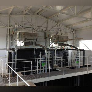Installationsfoto Gülleseparatoren