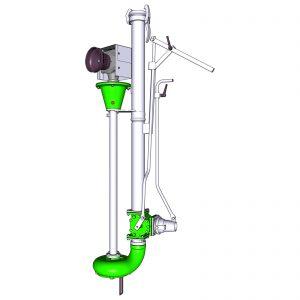 Rührmixpumpe ER3-S mit Zapfwellenantrieb