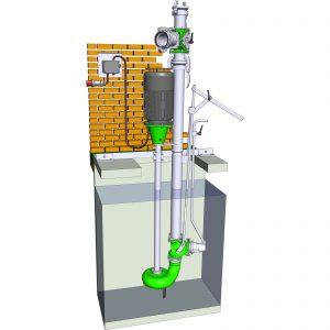 ER3-Pumpe mit Dreiwegschieber