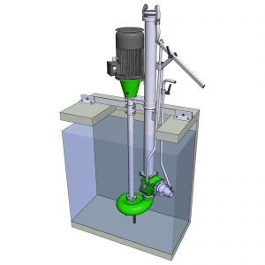 Grubeneinbau Rührmixpumpe ER3-E