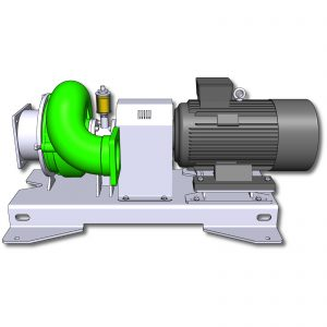 22kW trocken aufgestellte Pumpe ER3-E L