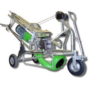 Foto Güllepumpe mit Dreirad-Fahrgestell