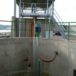 ER2-E Pumpe mit Unterflurabgang und Gülleseparator