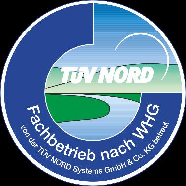 Euro-P TÜV-Siegel Fachbetrieb nach WHG Wasserhaushaltsgesetz